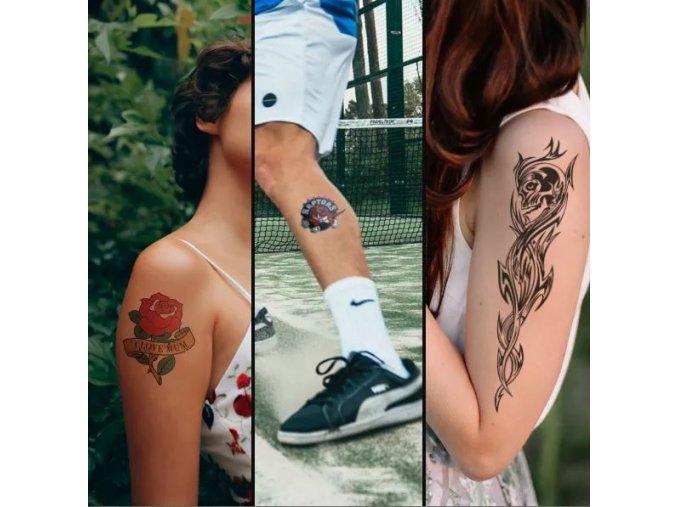 FOREVER Tattoo paper ( set A-foil a B-paper ) 100 listů