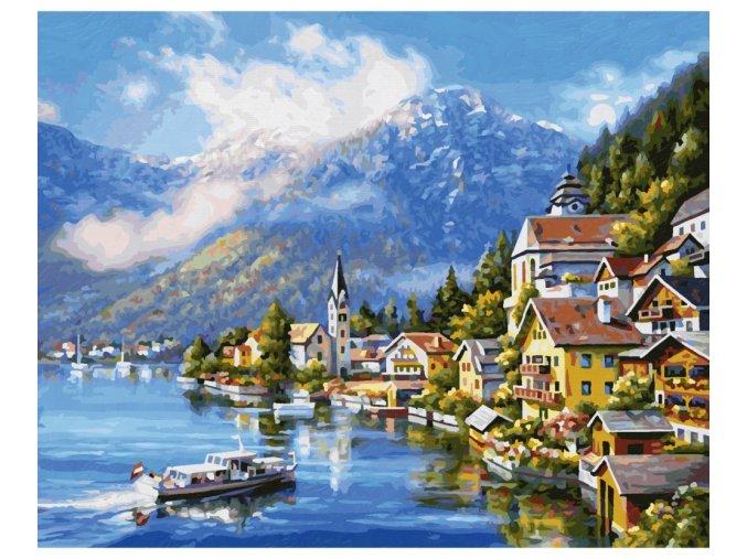 750 na jezere hallstatt 40 x 50 cm