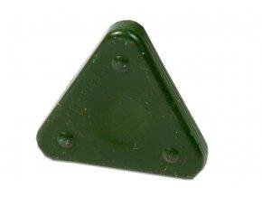 Voskovka trojboká Magic Triangle pastel olivově zelená