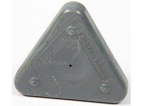Voskovka trojboká Magic Triangle pastel šedá