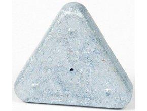 Voskovka trojboká Magic Triangle metalická stříbrná