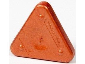 Voskovka trojboká Magic Triangle metalická rudě měděná