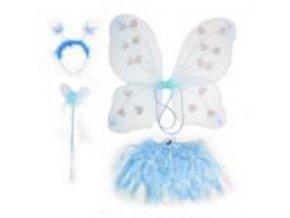sada motýlí modrá
