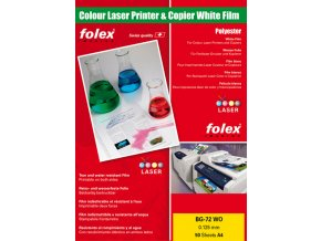 FOLEX BG 72 WO DIN A4 - 50 listů