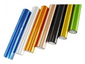Metalická fólie barvící - Carbon Fiber Red 30cmx12m