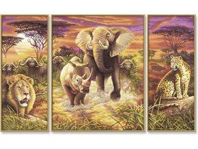 948 afrika 5 nejvetsich 50 x 80 cm