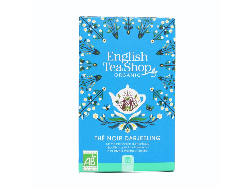 English Tea Shop Darjeeling čaj Mandala 40g, 20 sáčků, bio ETS20