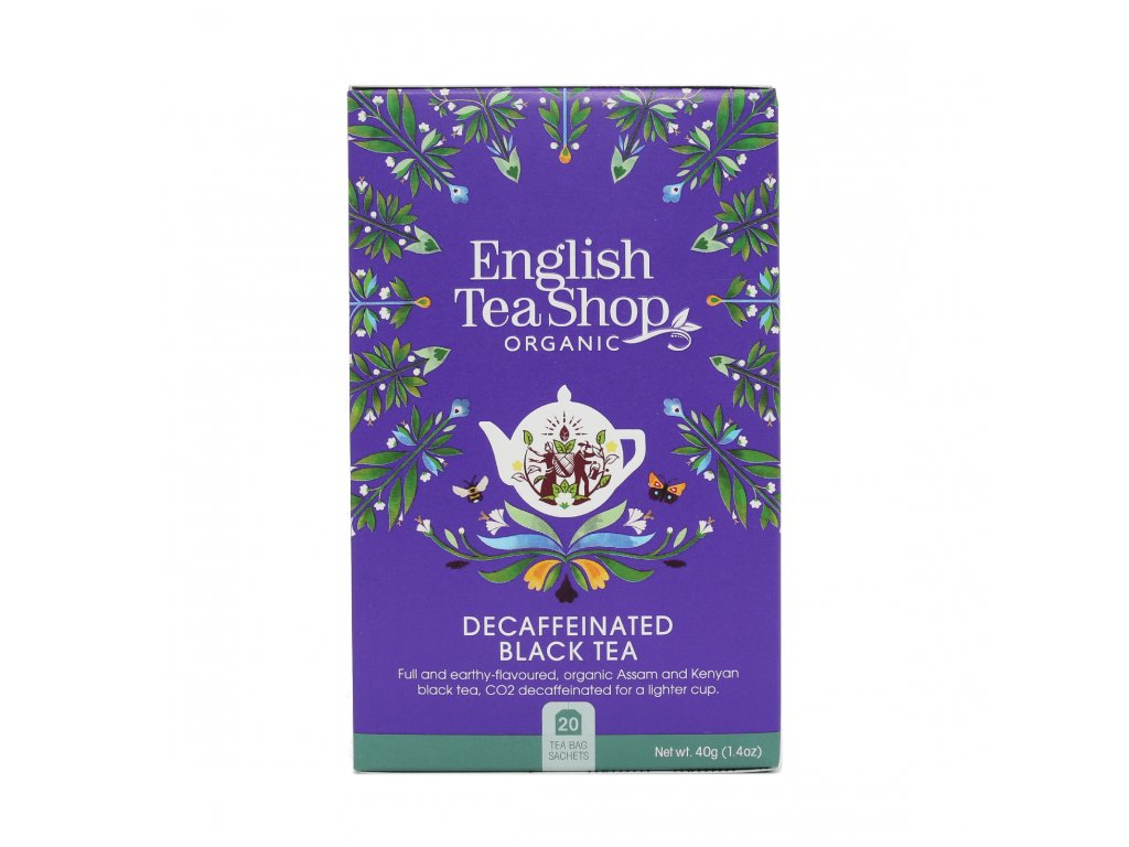 English Tea Shop English Bezkofeinový černý čaj mandala 40 g, 20 sáčků, bio ETS20