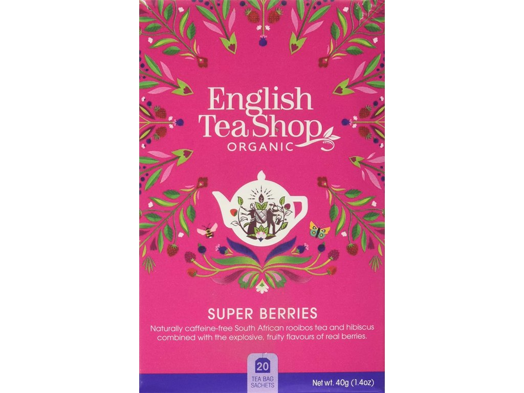 English Tea Shop Super ovocný čaj mandala 40 g, 20 ks bio ETS20