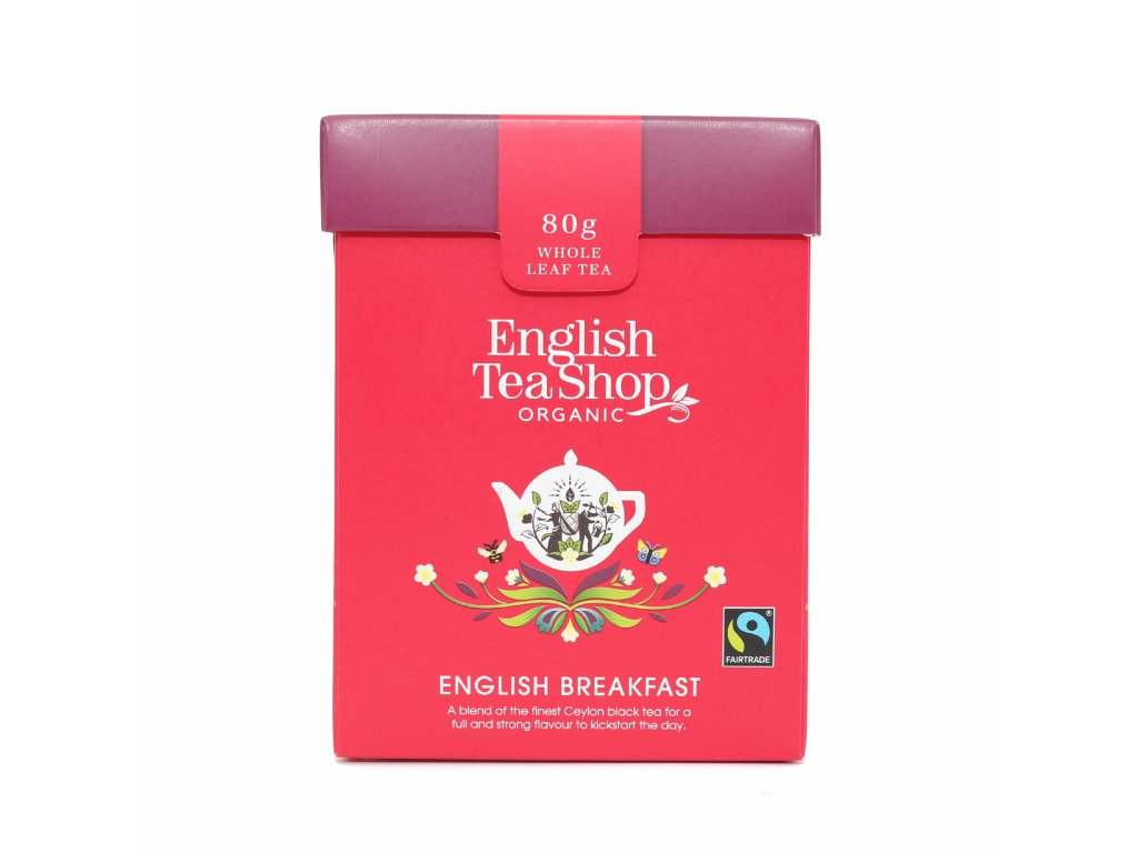 English Tea Shop Sypaný English Breakfast 80 g, bio a fairtrade ETS80