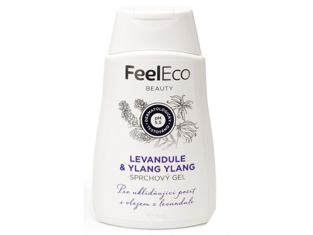 Sprchový gel levandule & Ylang Ylang Feel Eco 300ml