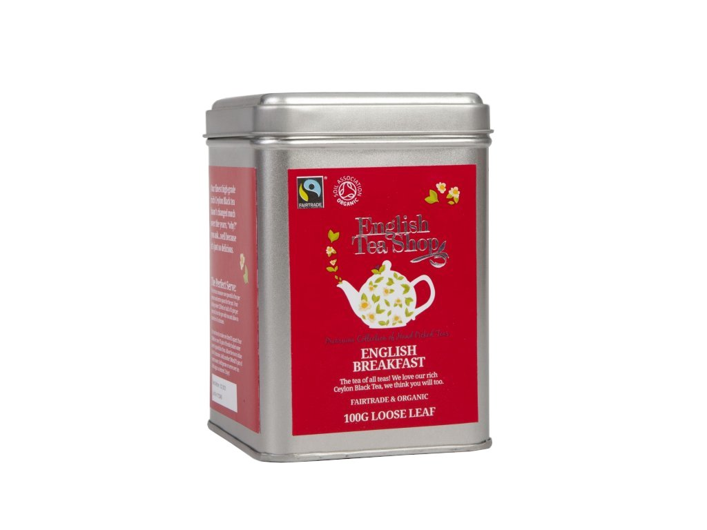 English Tea Shop Sypaný English Breakfast 100 g, bio a fairtrade ETS100