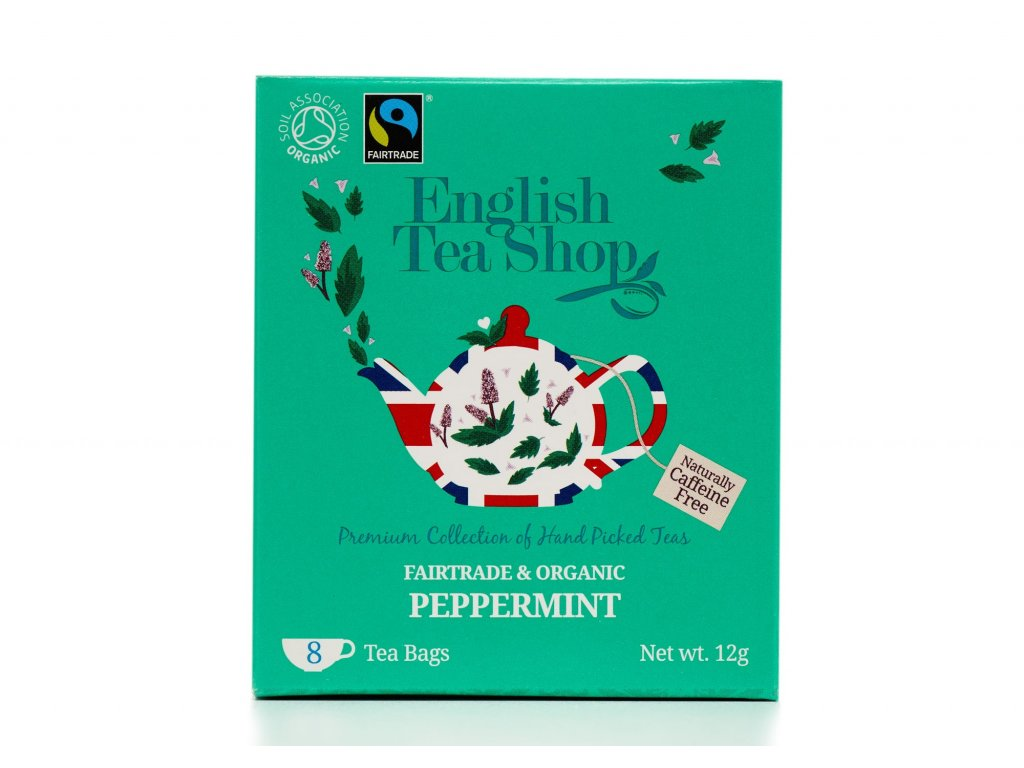 English Tea Shop Mátový čaj 12 g, 8 sáčků, bio a fairtrade ETS8