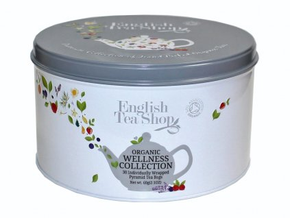 English Tea Shop Dárková sada Wellness 60g, 30 ks bio ETS630