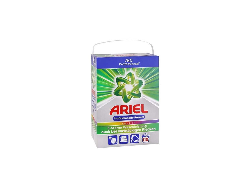 Ariel Professional prací prášek 7,15kg Colour 110W 8001090757821