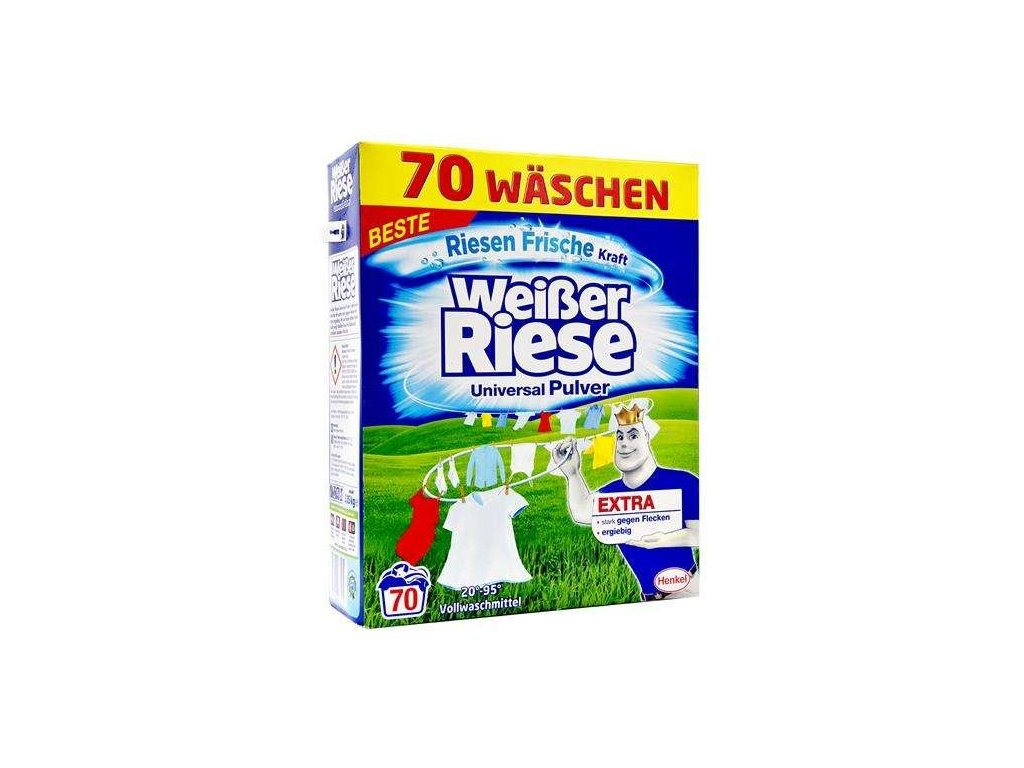 Weisser Riese prací prášek 3,85kg Universal 70W 4015000968225