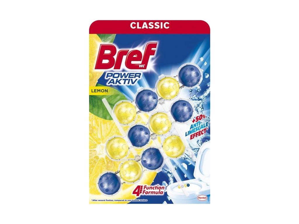 Bref WC Power Aktiv 3x50g Lemon 9000100753371