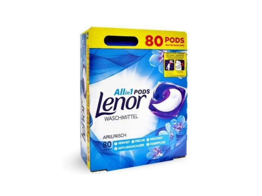Lenor kapsle na praní 3x27ks Universal Aprilfrisch 81W 8001841533933