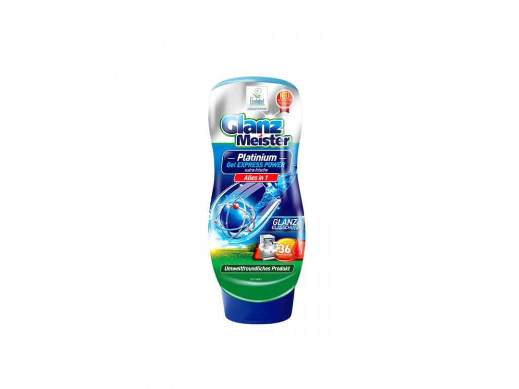 Glanz Meister gel do myčky Platinium 720ml 4260418933178