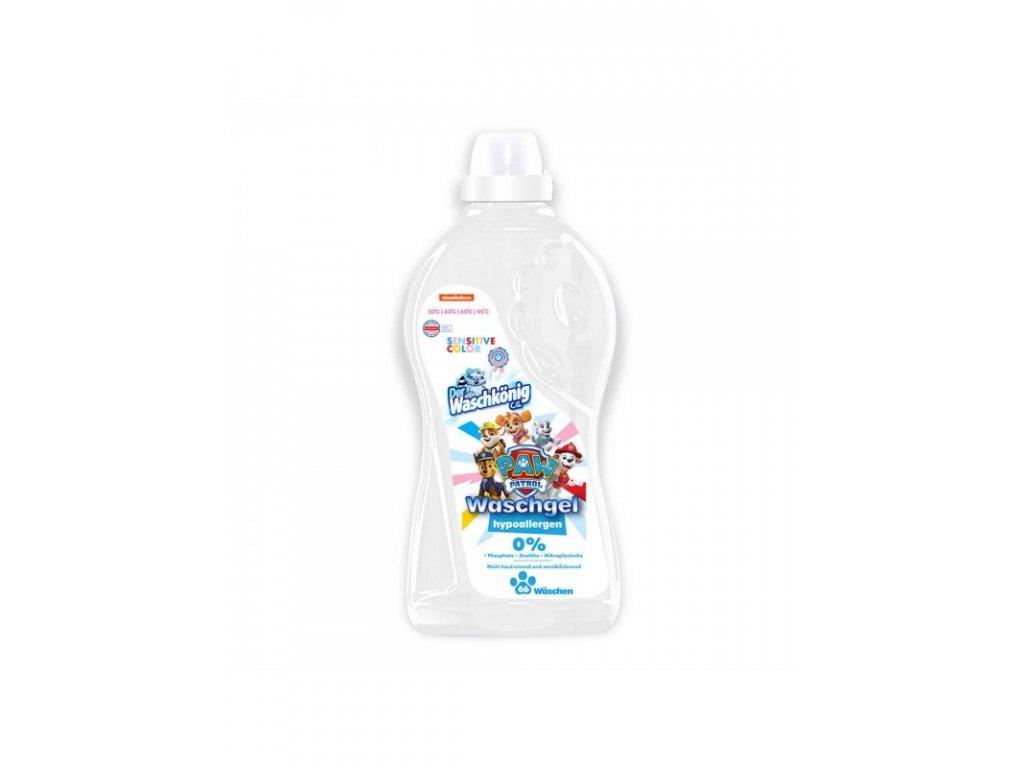 WaschKönig gel 2L Sensitive Color Tlapková Patrola 65 WL 4260554141420