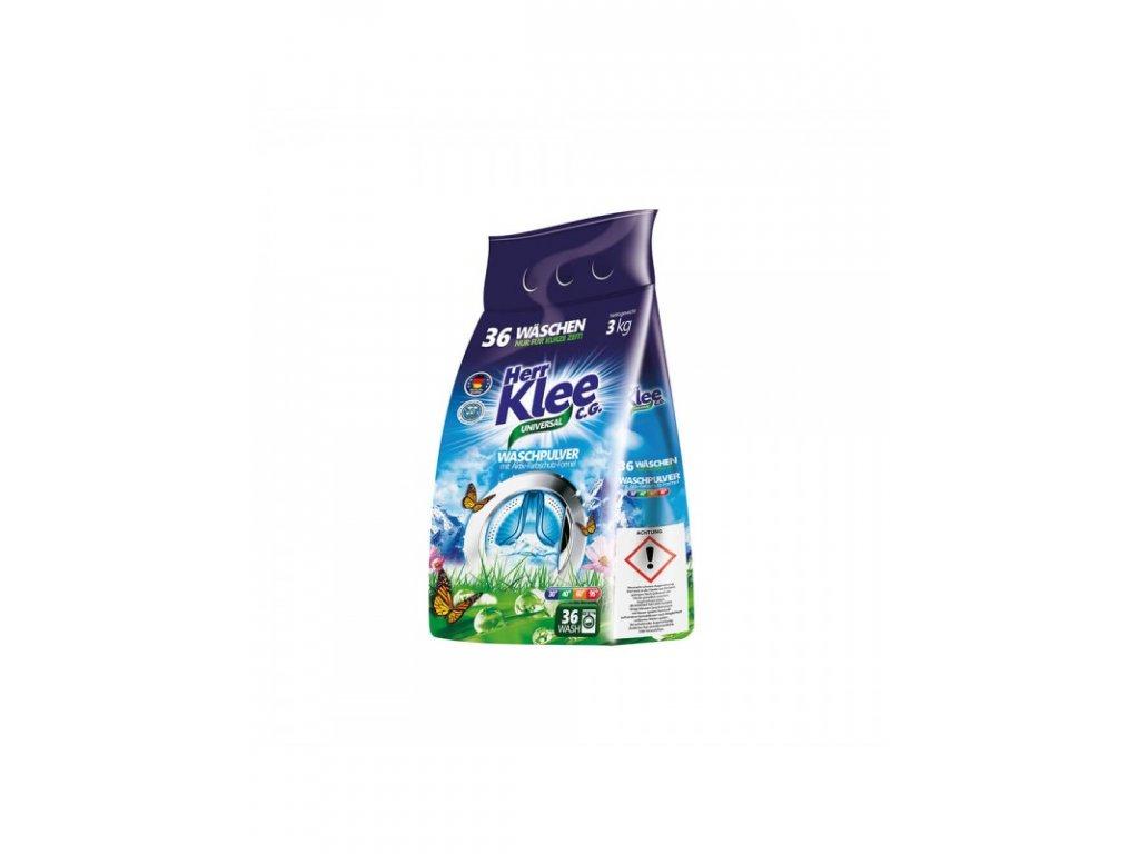 Klee prací prášek Universal 3kg folie 36WL 4260353550911