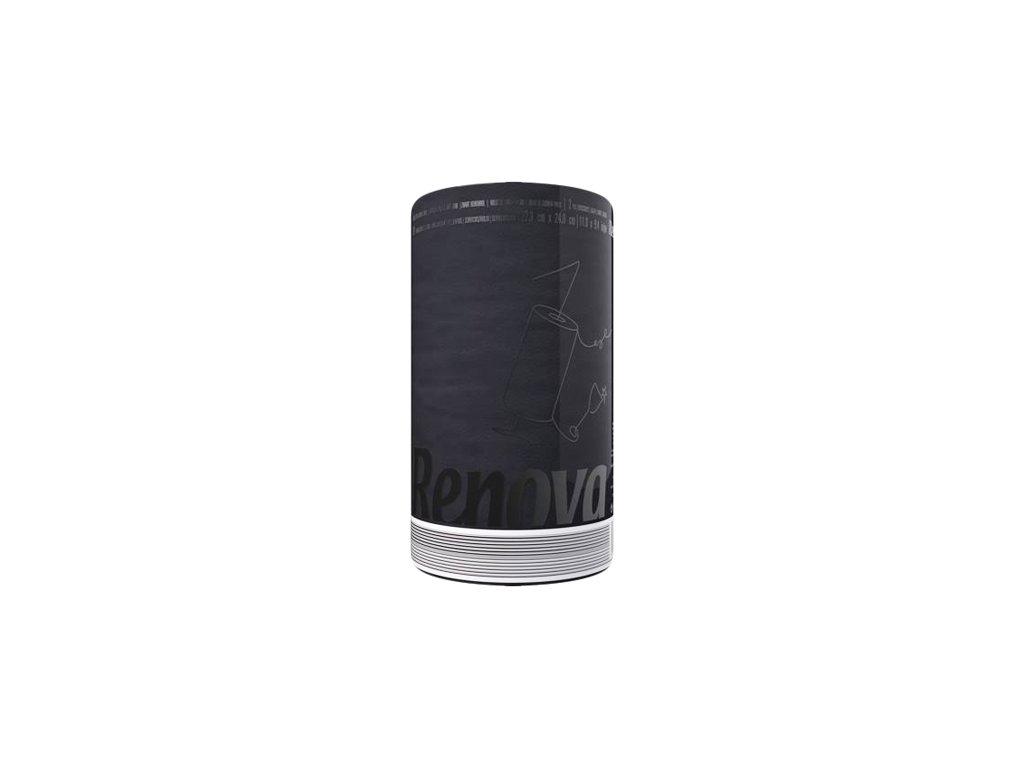 Renova kuchyňské utěrky 120 útržků černá 5601028023597