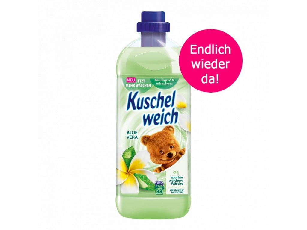 Kuschelweich aviváž 1 L 33 WL Aloe Vera zelená 4013162028375
