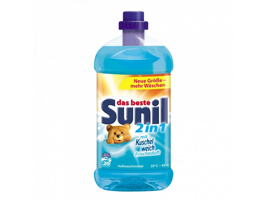 Sunil prací gel 2v1 1,314L 20 WL 4013162028535