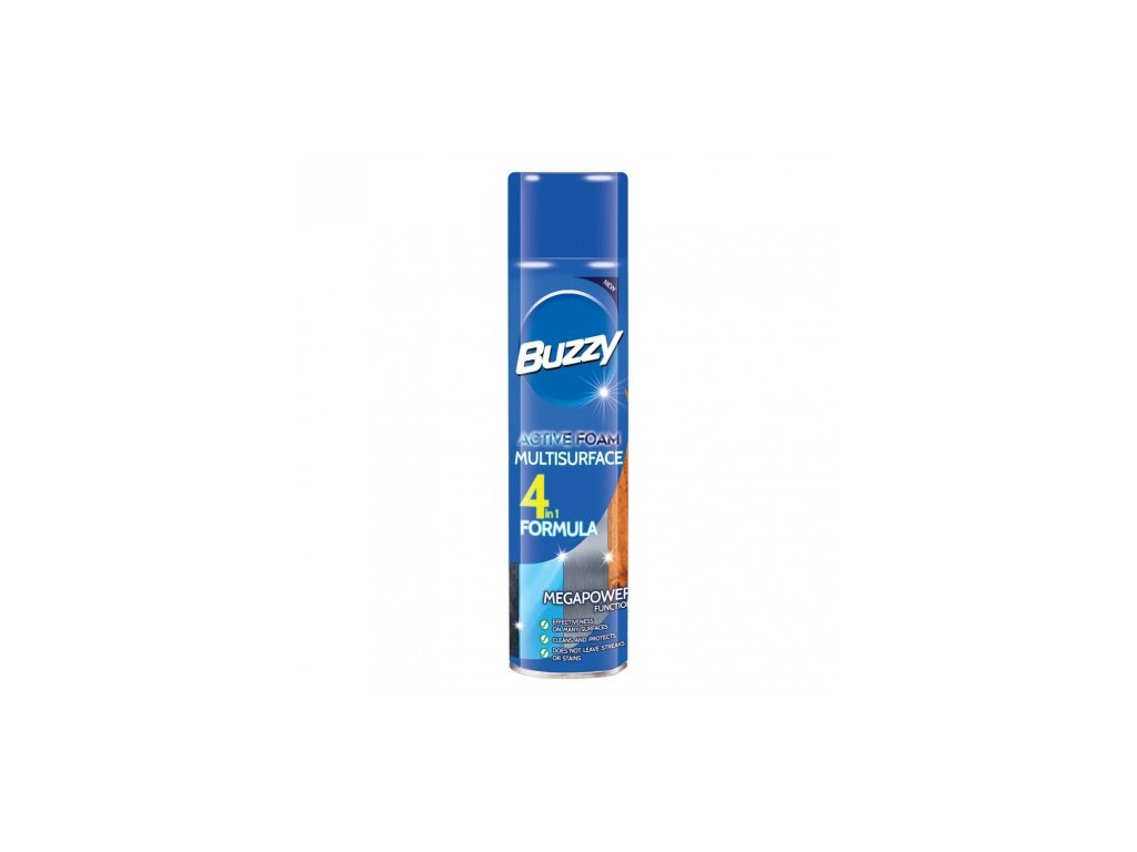 7491 buzzy aktivni pena 435ml multisurface