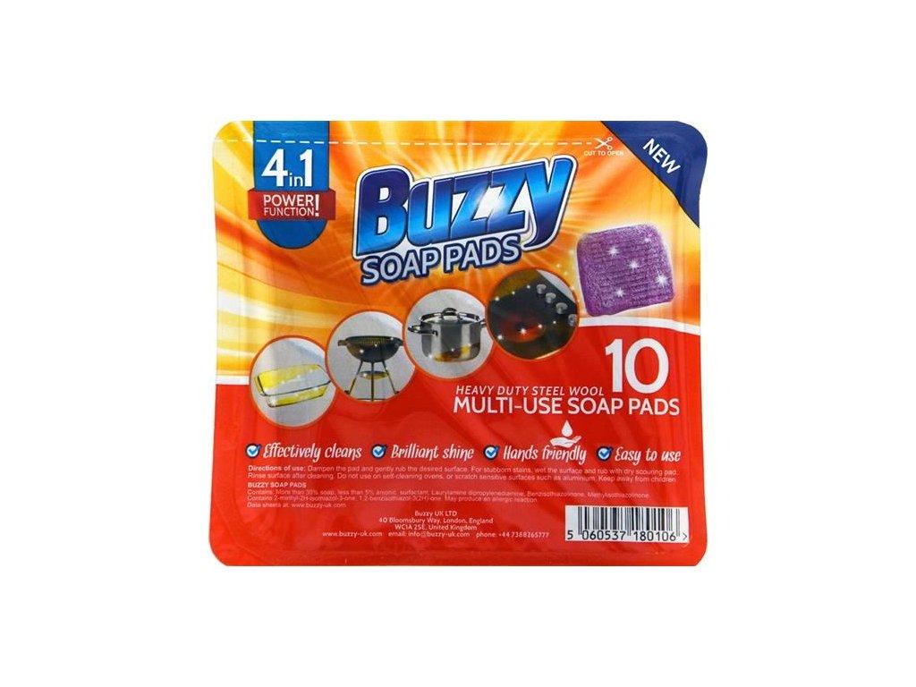7689 buzzy soap pads dratenka se saponatem 10ks