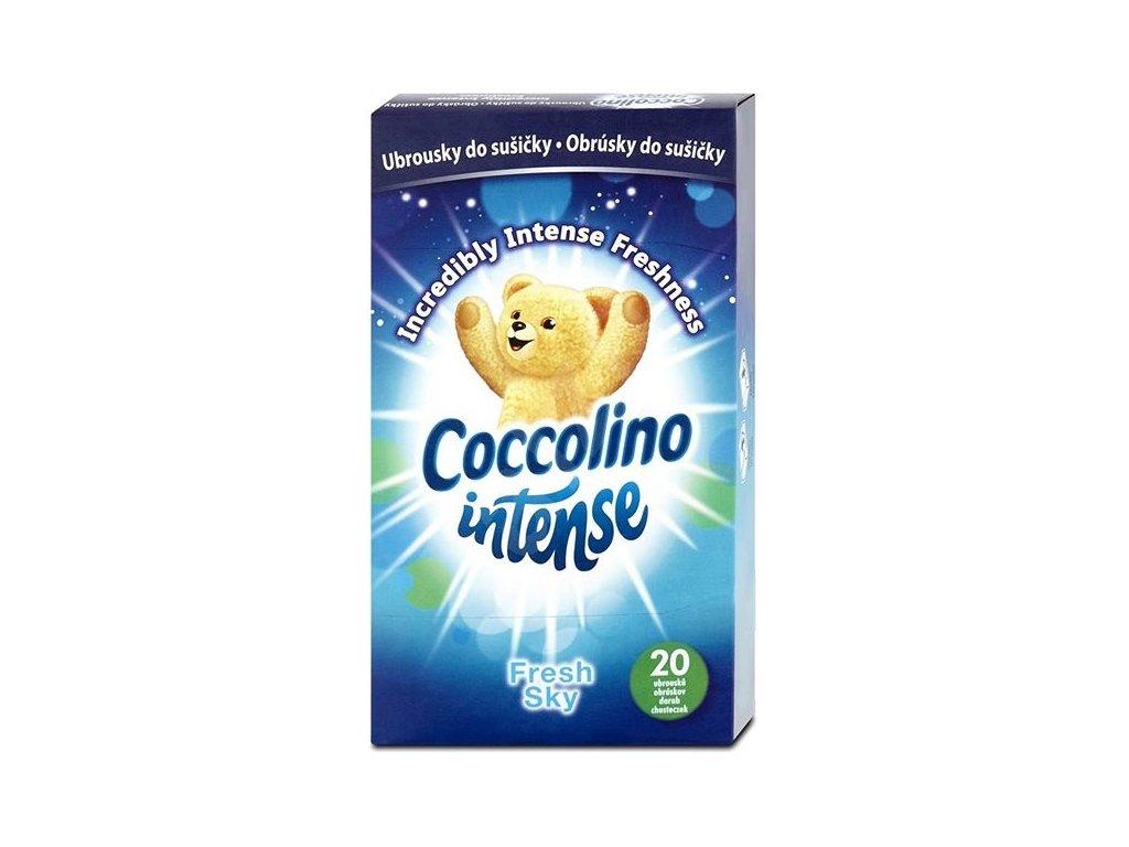 Coccolino ubrousky do sušičky Fresh Sky 20ks 8710447424674