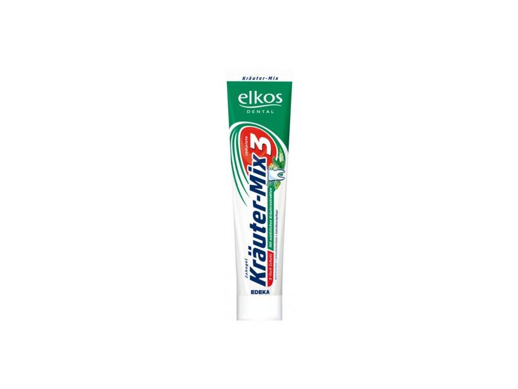 7054 elkos krauter mix 3 zubni pasta 125ml