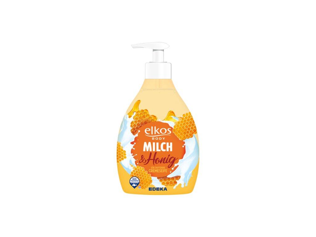 ELKOS 500ml mlék&med mýdlo tek. 4311501677537