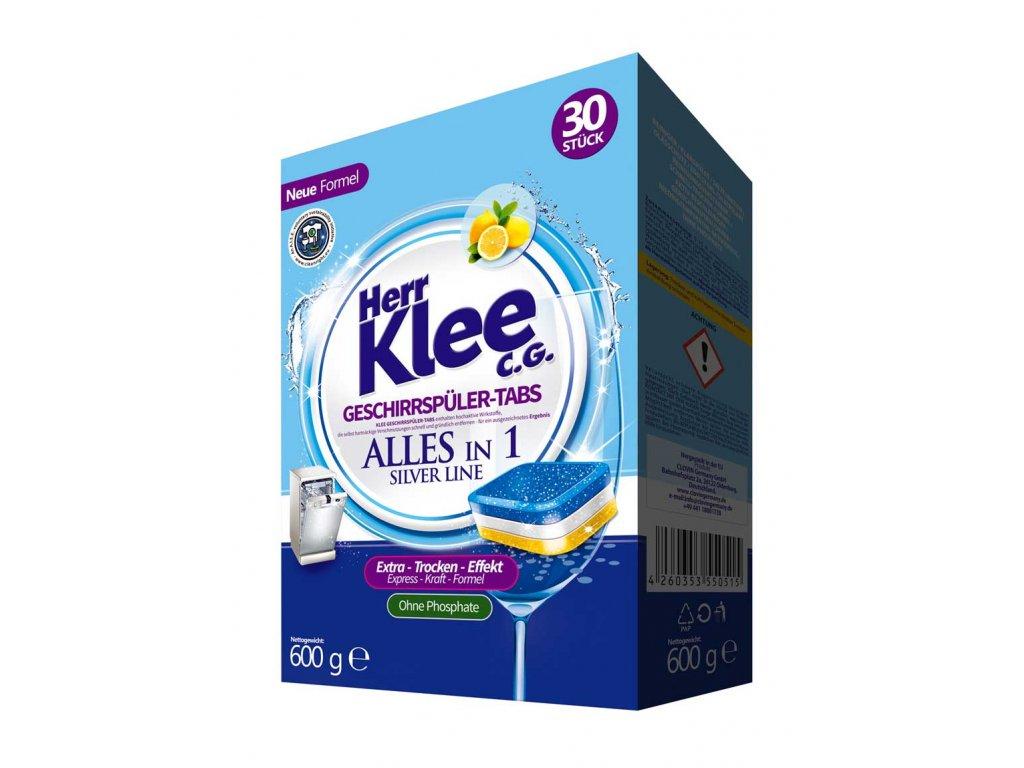 Klee Silver Line All in 1 tablety do myčky nádobí 30 ks 4260353550515 nové balení