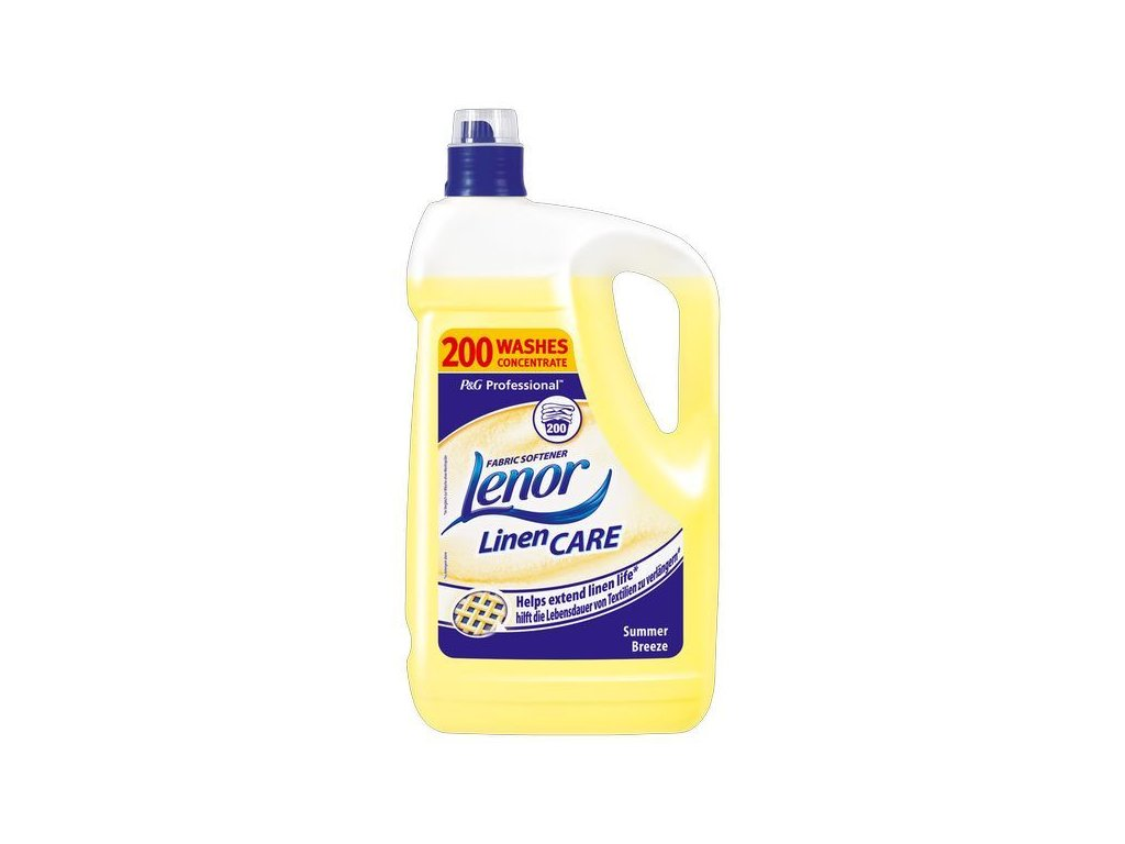 7836 lenor summer 5l 200wl zluty