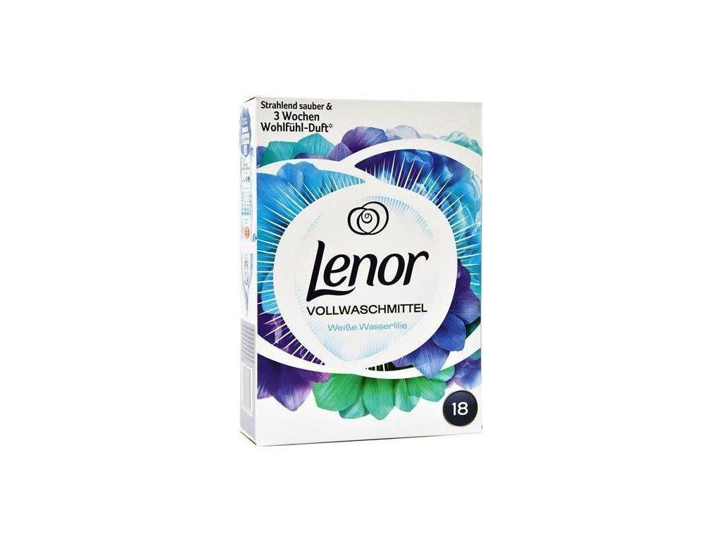 Lenor Universal prací prášek Wasserlilie 1,17 kg 18 WL 8001090357250