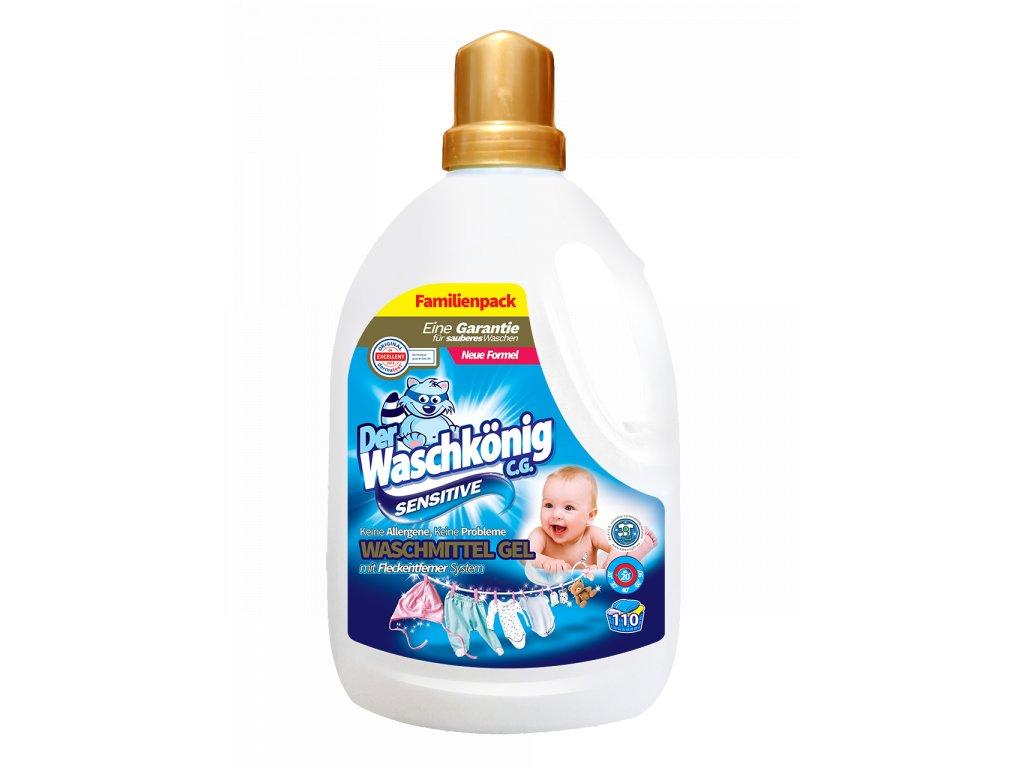 WaschKönig gel 3,305 L Sensitive 110 WL 4260418932782