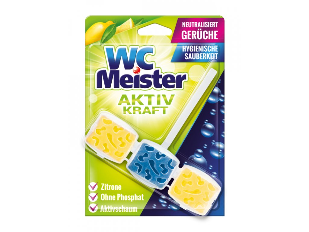 6066 wc meister zaveska do wc citron 45 g