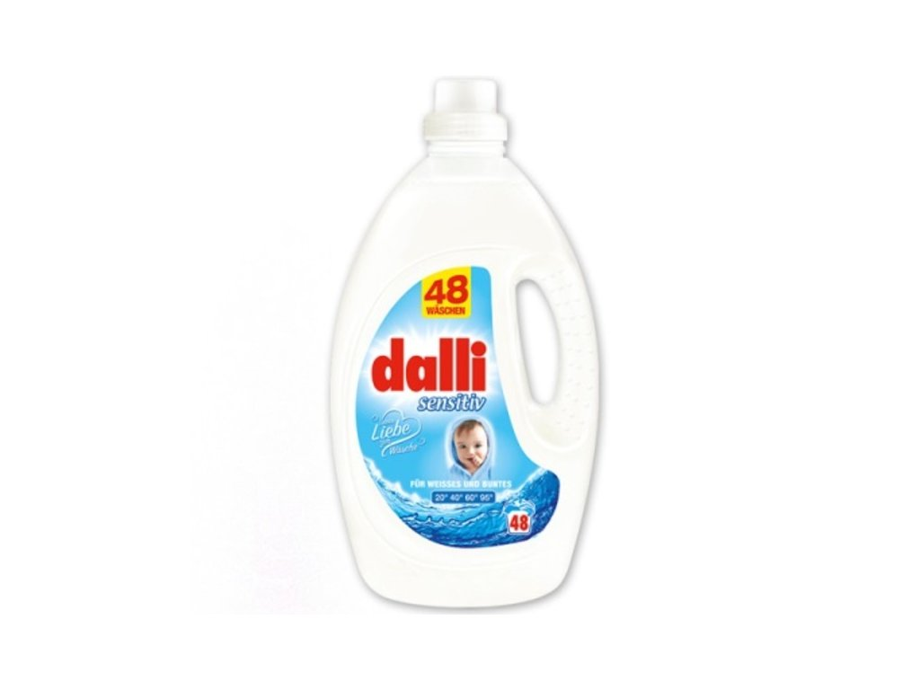 Dalli prací Gel Sensitiv 3,6L 48WL 4012400528776