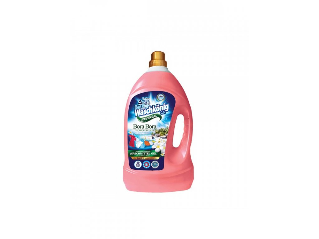 WaschKönig gel 4L Bora Bora Universal 133WL 4260418932874