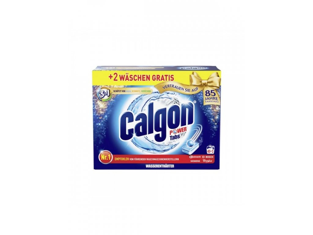 Calgon Power Tabs 3w1 45+2W 4002448140993
