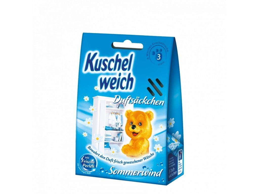 Kuschelweich vonné sáčky Sommerwind 3ks modré 4013162014392