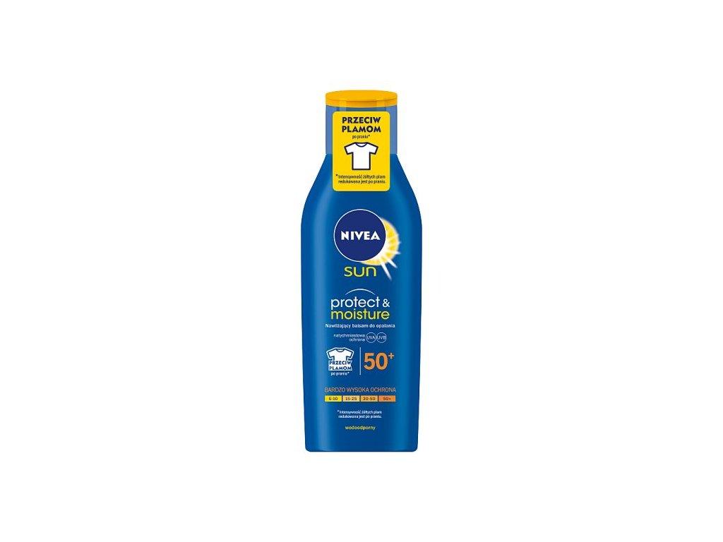 8190 nivea sun 50 protect and moisture mleko 200ml