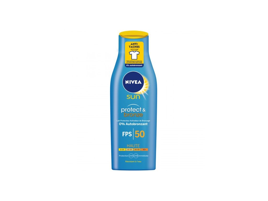 8193 nivea sun 50 protect and bronze mleko 200ml