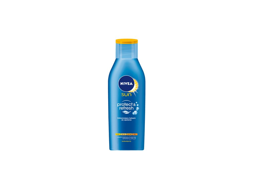 8196 nivea sun 30 protect and refresh mleko 200ml
