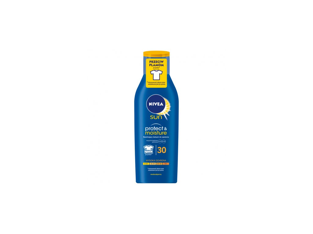 8220 nivea sun 30 protect and moisture mleko 200ml