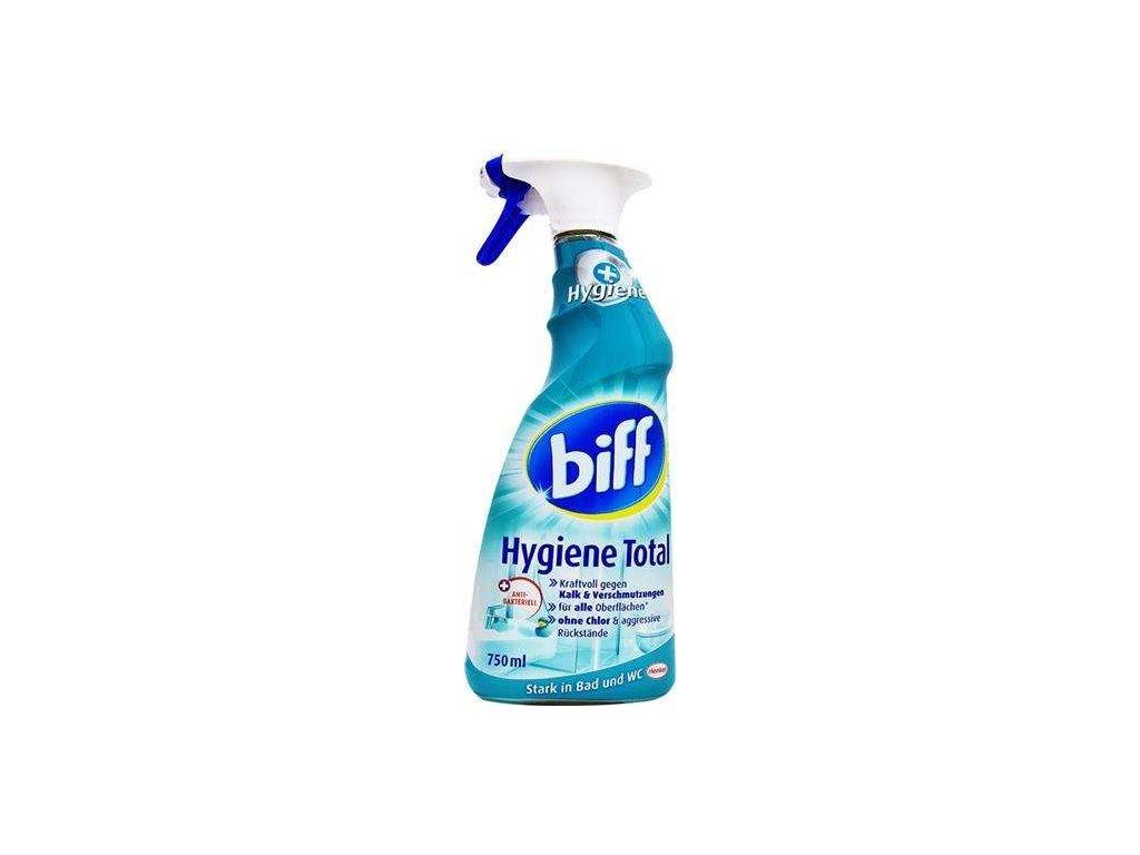 Biff Hygiene Total 750ml universální čistič na koupelny 4015000963008