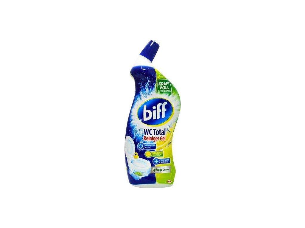 Biff 750ml WC Total gel do WC Spritzige Limone 4015000968218