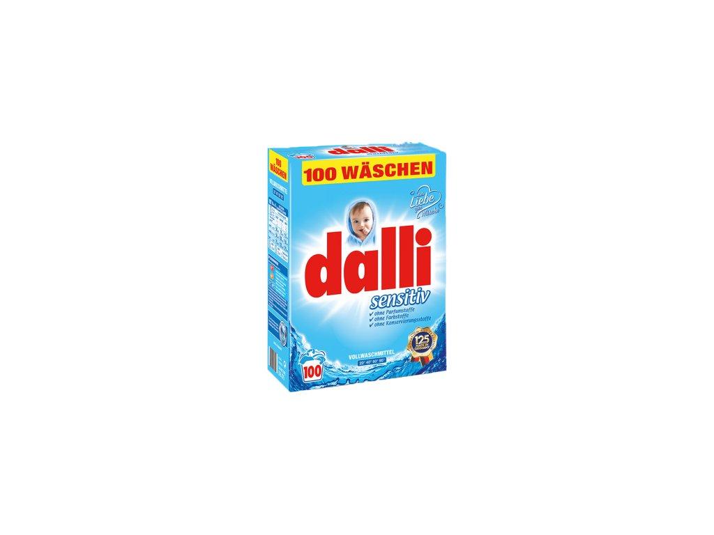 Dalli prací prášek Sensitiv 7,15kg 100WL 4012400528875