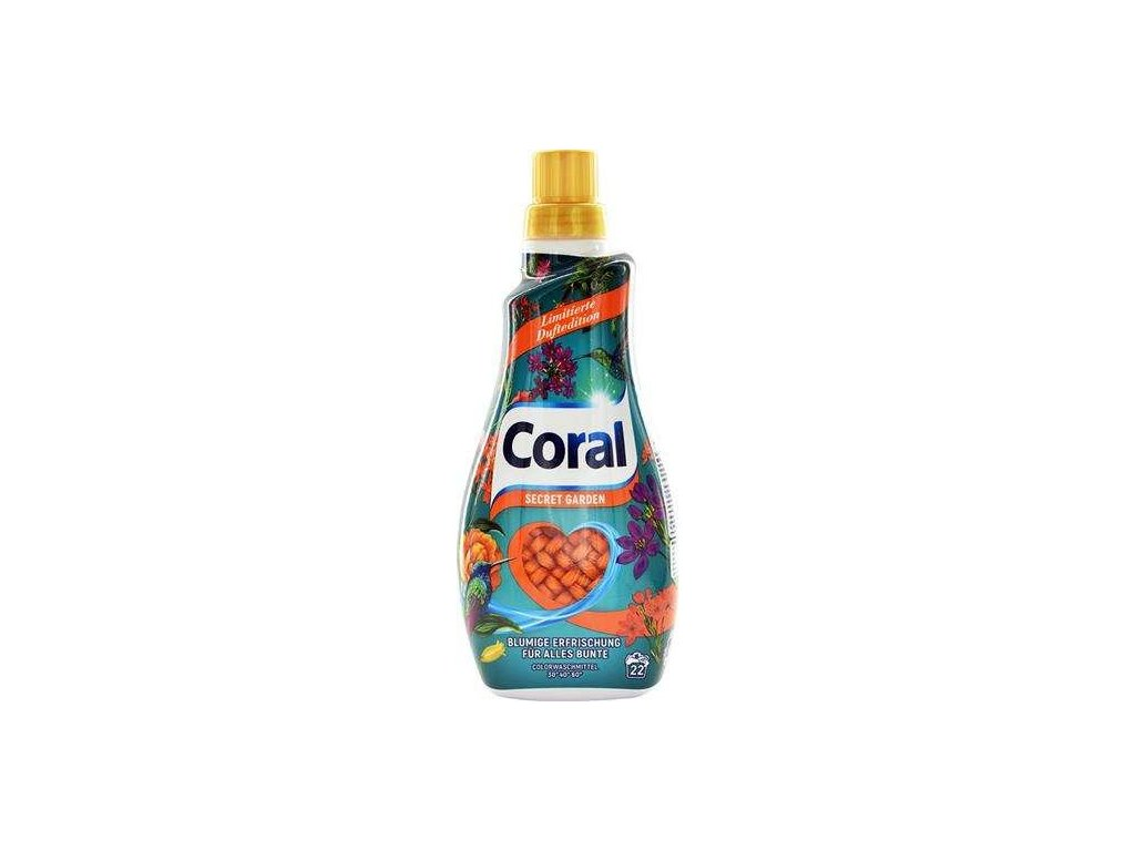 Coral prací Gel Secret Garden 1,1l 22WL 8710847907234